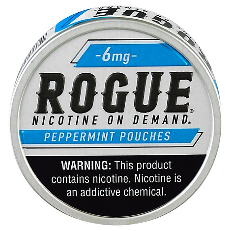 Rogue Nicotine Pouch Peppermint 6mg - 20 CT