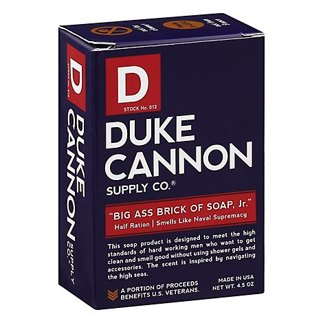 Duke Cannon Big Soap Naval Supremacy Jr - 4.5 OZ