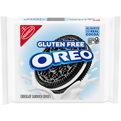 OREO Cookies Sandwich Gluten Free Chocolate - 13.29 Oz