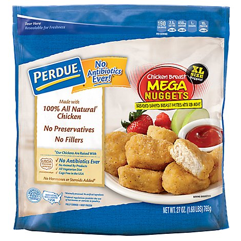 PERDUE Chicken Breast Nuggets Mega - 27 Oz