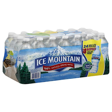 Ice Mountain Spring Water - 28-16.9FZ