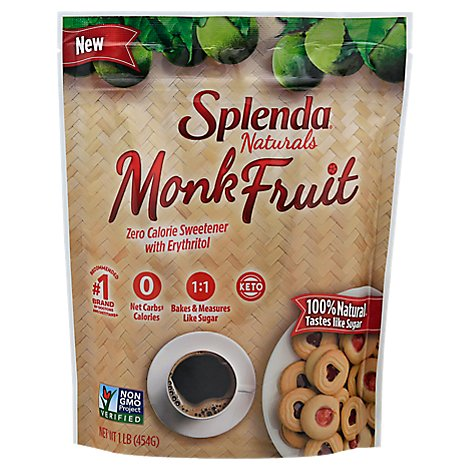 Splenda Naturals Monk Fruit Sweetner - 16 OZ