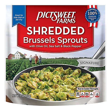 Pictsweet Shredded Brussels Sprouts - 9 OZ