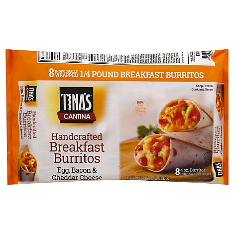 Tinas Cantina Breakfast Bacon 8ct - 32 OZ