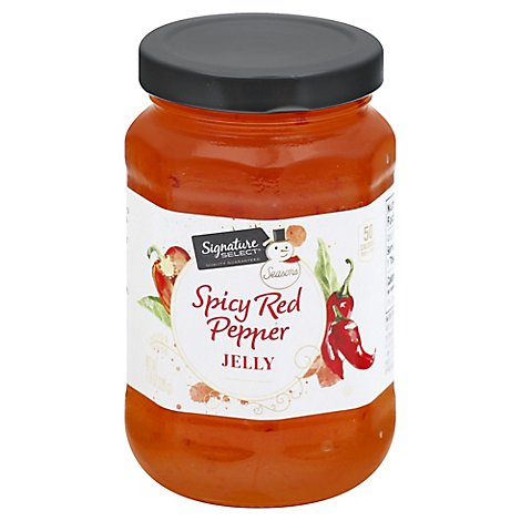 Signature Select Seasons Jelly Spicy Red Pepper - 11.6 OZ