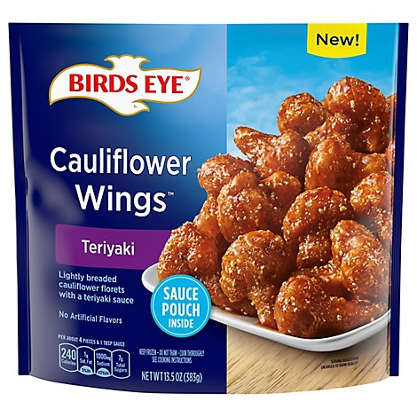 Birds Eye Teriyaki Cauliflower Wings Frozen Vegetable - 13.5 OZ