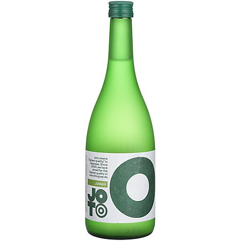 Joto The Green One Junmai Sake Wine - 720 Ml