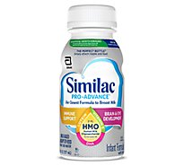 Similac Pro-advance Human Milk Oligosaccharide Bottle - 6-8 FZ