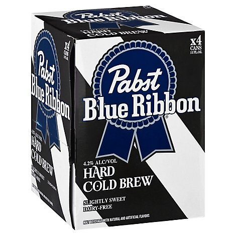 Pbr Hard Cold Brew  Slim In Cans - 4-11 FZ