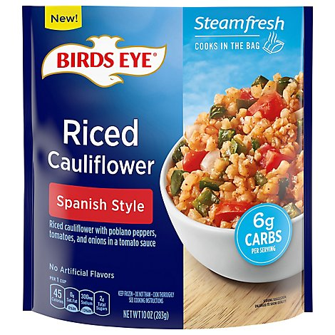 Birds Eye Riced Cauliflower Spanish Style Frozen - 10 OZ