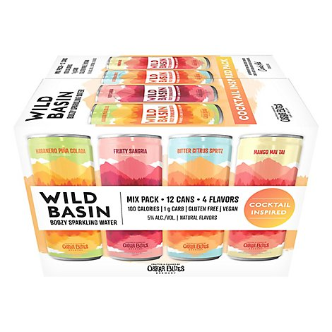 Wild Basin Cocktail Variety In Cans - 12-12 FZ