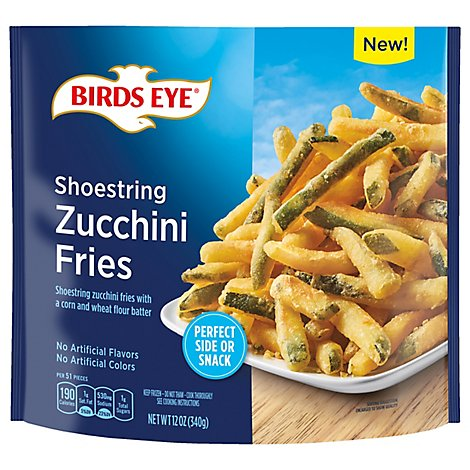 Birds Eye Shoestring Zucchini Fries Vegetable Snacks - 12 OZ