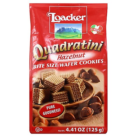 Loacker Quadratini Hazelnut - 4.41 OZ