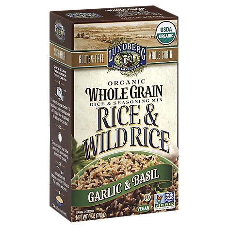 Lundberg Mix Rice Wg & Wld Rice Gr - 6 OZ