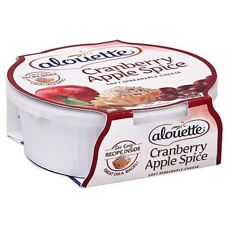 Alouette Cranberry Apple Spice Cheese Spread - 6 OZ