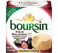 Boursin Fig & Balsamic Chesse - 5.2 OZ