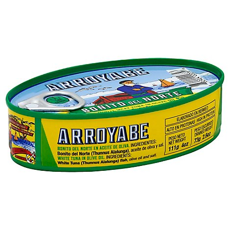 Arroyabe Tuna In Olv Oil - 4 OZ