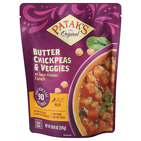 Pataks Meal Rte Butter Chickpea - 10.05 OZ