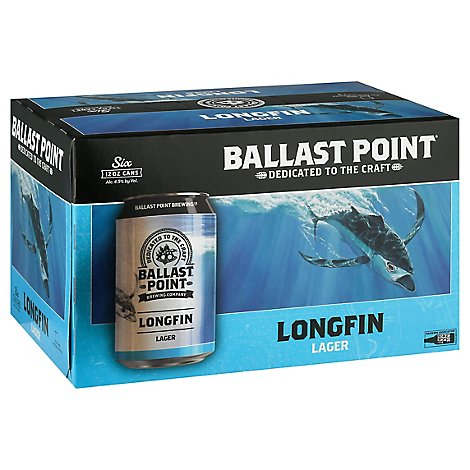 Ballast Point Long Fin In Cans - 6-12 FZ