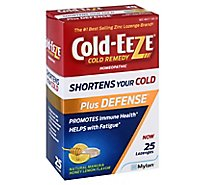 Cold Eeze Plus Defense Manuka Honey Lemon Lozenges - 25 CT