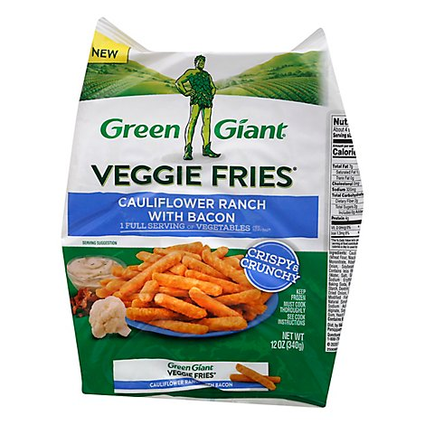 Green Giant Veggie Fries Cauliflower Bacon & Ranch - 12 OZ