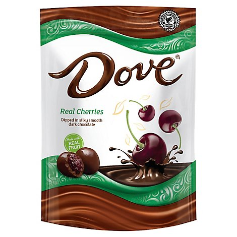 Dove Dark Chocolate Whole Cherry - 6 Oz
