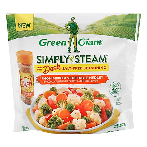 Green Giant Simply Steam Dash Lemon Pepper Veggie Medley - 9.5 OZ