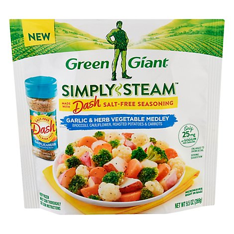 Green Giant Simply Steam Dash Garlic Herb Veggie Medley - 9.5 OZ