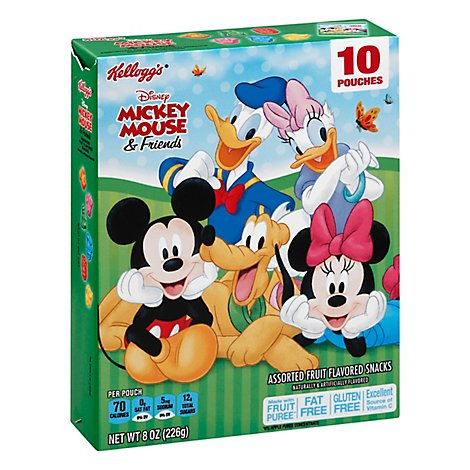 Kelloggs Disney Mickey & Friends Fruit P - 8 OZ