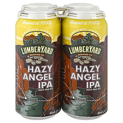 Lumberyard Hazy Angel Ipa 4pk 16oz In Cans - 4-16 FZ