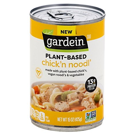 Gardein Vegan Chickn Noodl Soup - 15 OZ