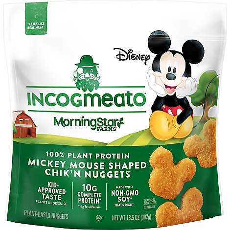 Morningstar Farms Incogmeato Chicken Mickey - 13.5 OZ