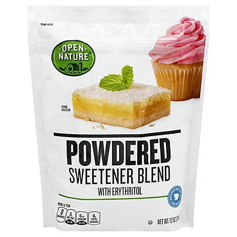 Open Nature Sweetener Blend Powdered - 12 OZ