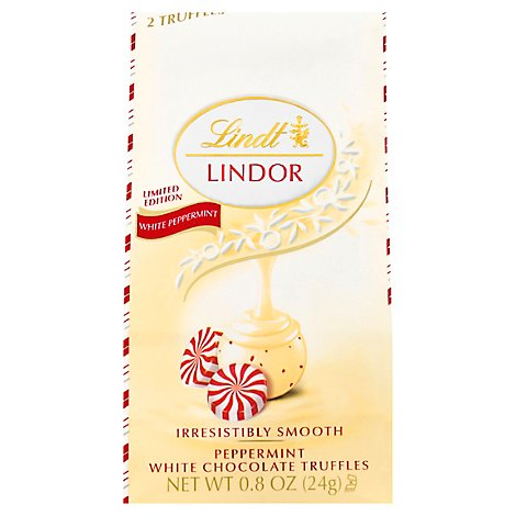 Lindor White Choc Peppermint - 0.8 OZ