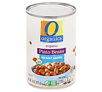 O Organics Beans Pinto No Salt Added - 15 OZ