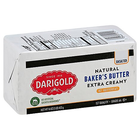 Darigold Bakers Butter Unsalted Elgin - 1 LB