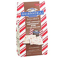 Gh Dark Peppermint Bark Squares - 7.7 OZ