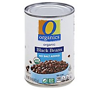O Organics Beans Black No Salt Added - 15 OZ