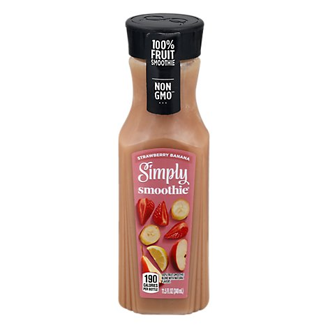 Simply Smoothie Strawberry Banana - 11.5 Fl. Oz.