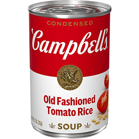 Campbells Tomato Rice Condensed Soup - 11 OZ