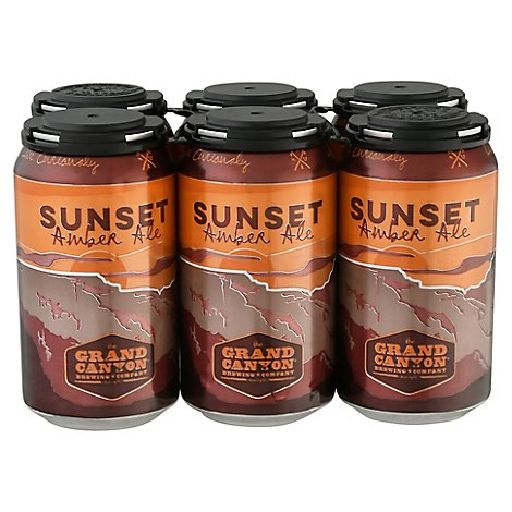 Grand Canyon Sunset Amber In Cans - 6-12 FZ