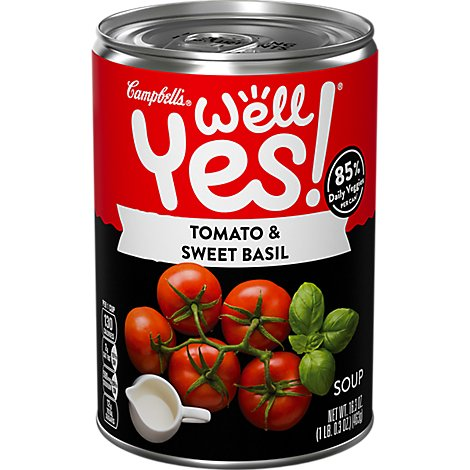 Campbells Tomato Basil Well Yes Soup - 16.3 OZ