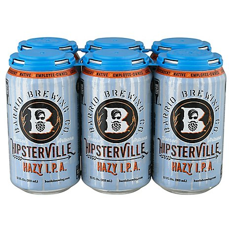 Barrio Hipsterville In Cans - 6-12 FZ