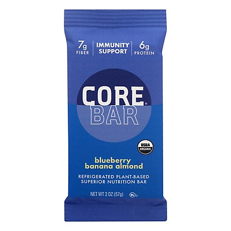 Core Prociotic Overnight Oat Bar Blueberry Og - 2 OZ