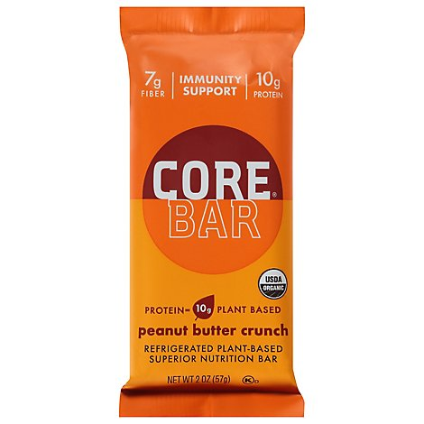 Core Probiotic Overnight Oat Bar Peanut Butter Og - 2 OZ