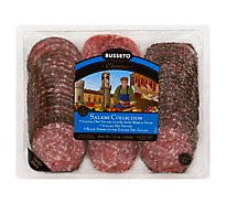 Sliced Salami Variety Pack Salami Peppered Salami Herb Salami - 12 OZ