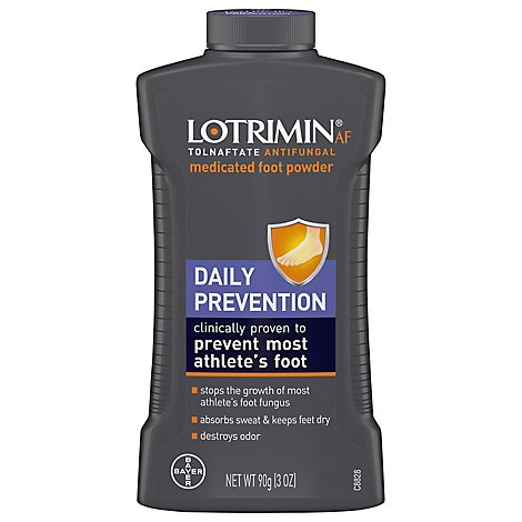 Lotrimin Daily Prev Deo Pwdr 90g - 90 GR