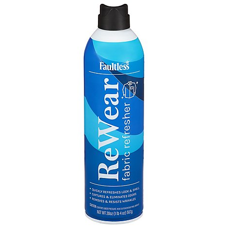 Faultless Rewear Dry Wash Spray - 20 OZ