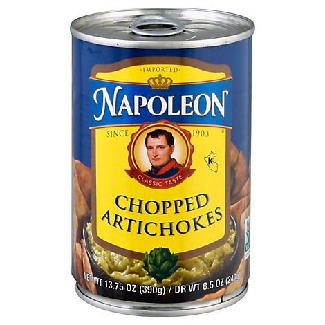 Napoleon Artichokes Chopped - 13.75 OZ