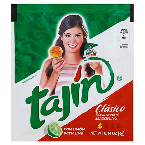 Tajin Seasoning Chile Lime Classico - 0.14 Oz.